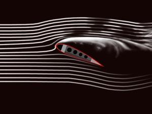 Laminar vs turbulent flow