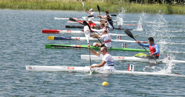 Mens 2012 Olympic Semi Start