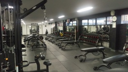 I had the gym pretty much all to myself on Friday morning!