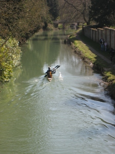 Devizes to Westminster K2 on canal